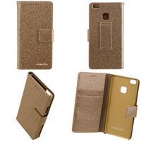 CARPE DIEM Book Case BLING für Huawei P9 Lite - Gold (98397515964)