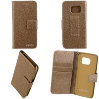CARPE DIEM Book Case BLING für Samsung Galaxy S7 - Gold (98397515965)