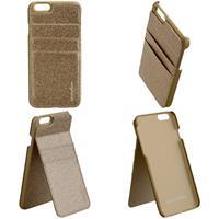 CARPE DIEM Back Cover BLING POCKET für Apple iPhone 6 / 6S - Gold (98397515969)