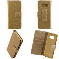 CARPE DIEM Book Case BLING für Samsung Galaxy S8 - Gold (98397516084)