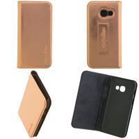 CARPE DIEM Book Case für Samsung Galaxy A3 (2017) - Metallic Rose Gold (98397516225)