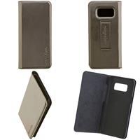 CARPE DIEM Book Case für Samsung Galaxy S8 - Metallic Anthrazit (98397516228)