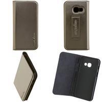 CARPE DIEM Book Case für Samsung Galaxy A3 (2017) - Metallic Anthrazit (98397516231)