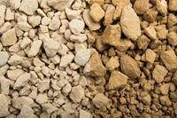 1 Tonne Ardennen Splitt gelb Achtung mit 0 -Anteilen 10-20mm, Edelsplitt - gebrochen im Big Bag (9879000024)