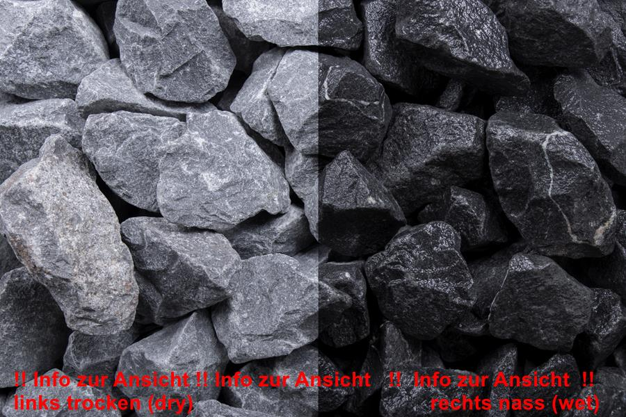 1 Tonne Basalt 16-32mm, Edelsplitt - gebrochen im Big Bag (9879000064)