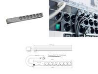 Bachmann 19 Zoll Steckdosenleiste 7x Schutzkontakt Netz-Frequenzfilter 1HE (333.406) (9969101989)