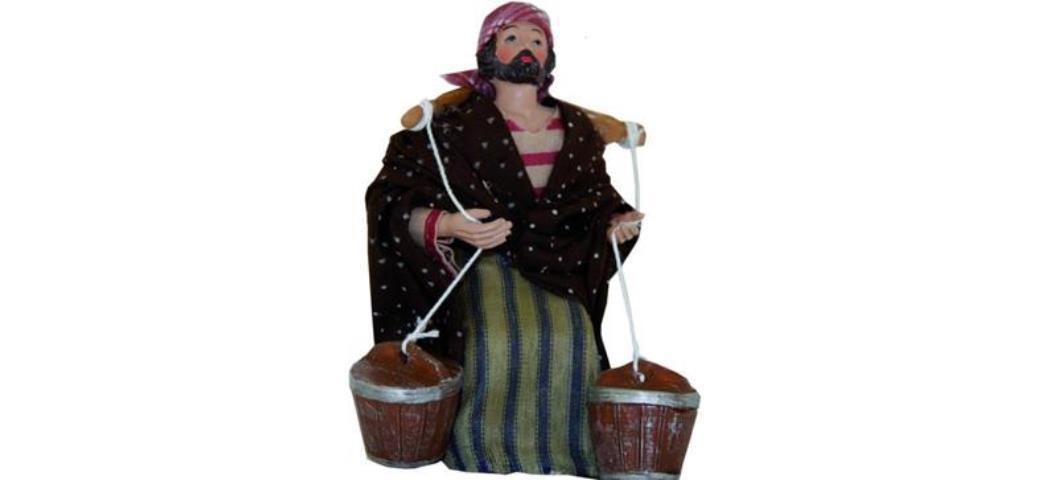 Krippenfiguren Wasserträger orientalisch, geeignet für 13cm Figuren (4411005)