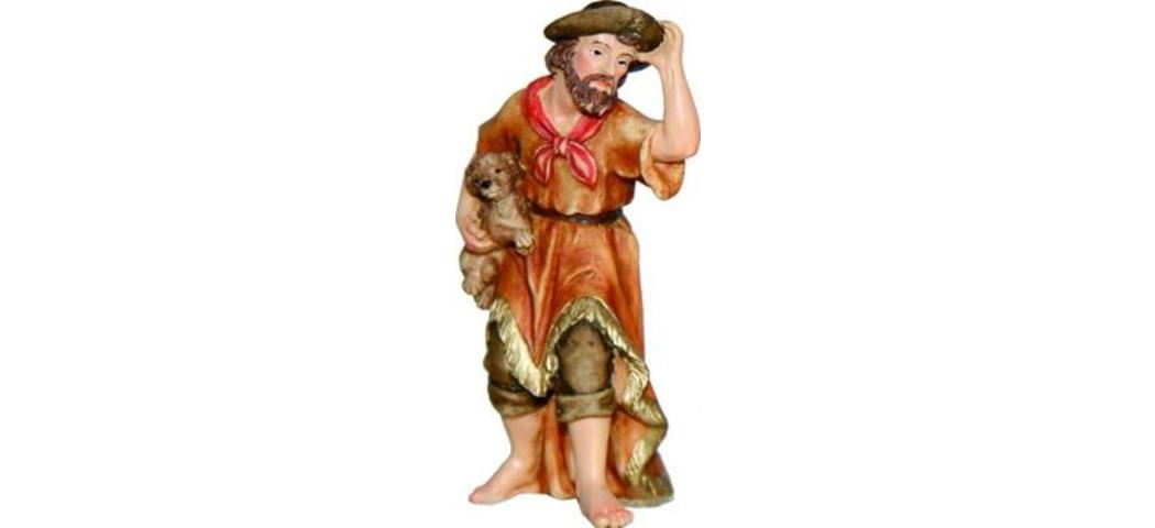 Krippenfiguren Wanderer, geeignet für 11-12cm Figuren (4411058)