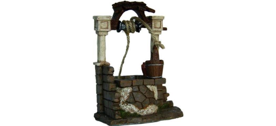 Krippenzubehör Brunnen, Höhe 13cm (4411123)