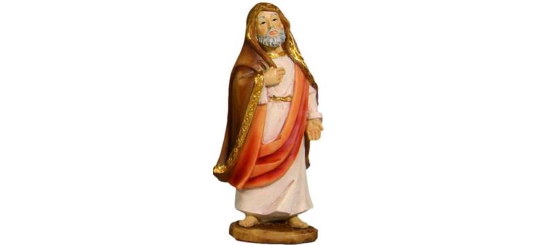 Krippenfiguren Tempelpriester, geeignet für 9cm Figuren, handbemalen (4411262)