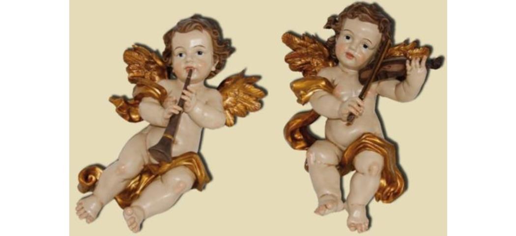 Schutzengel Engel in gold, 2er Set, Höhe 44cm (4411428)