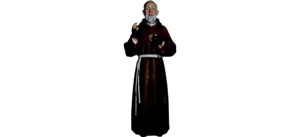 Heiligenfigur Pater Pio, 43cm (4412713)