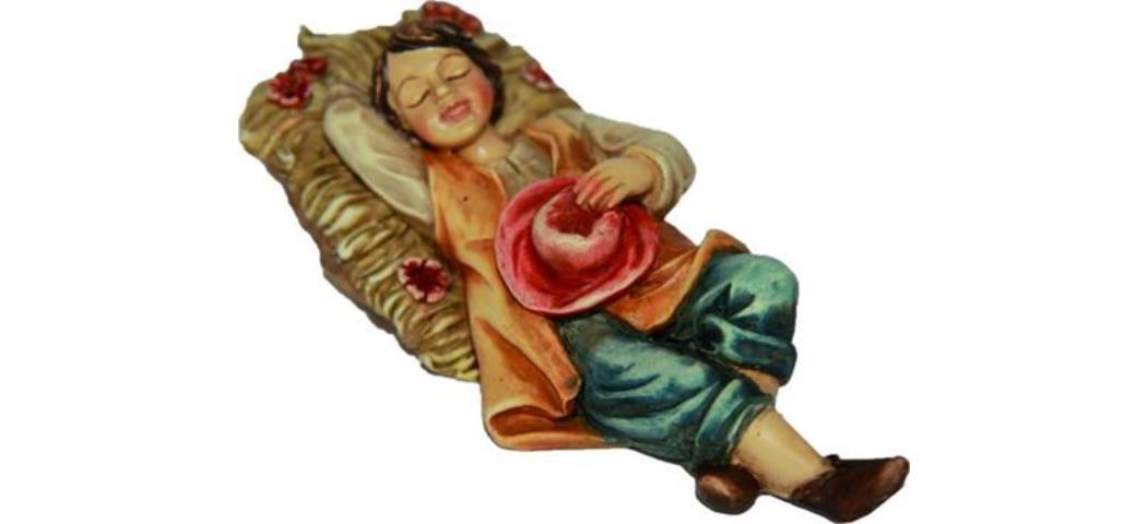 Krippenfiguren Träumer, geeignet für 10cm Figuren, handbemalen (4412732)