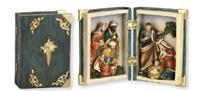 Heiligenfiguren Heilige Drei Könige, Heilige Familie in Holzbox Höhe 10cm (4414018)