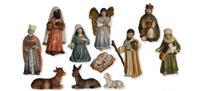 Krippenfiguren Krippenset 11tlg., orientalisch geeignet für 8cm Figuren (4415811)