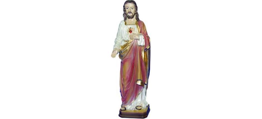 Heiligenfigur Jesus Christus, Höhe 30cm, handbemalen (44209)