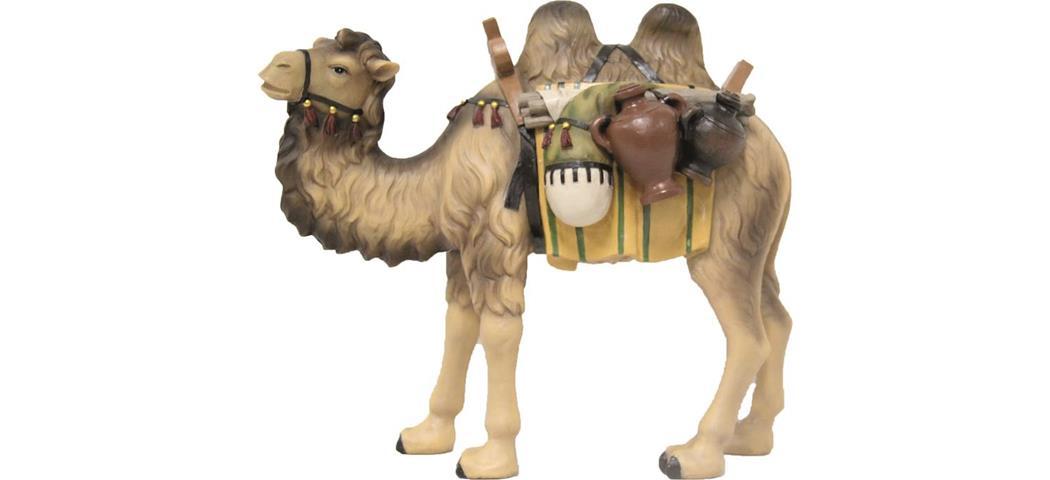 Krippenfiguren Kamel, geeigent für 7cm Figuren, handbemalen (44673)