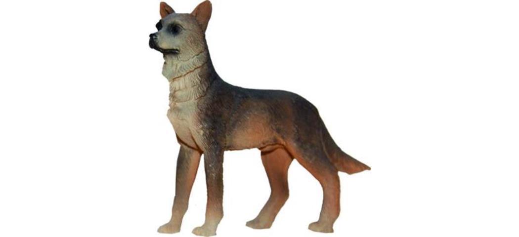 Krippenzubehör Schäferhund Höhe 7,7cm geeignet für 15-19cm Figuren (44887)