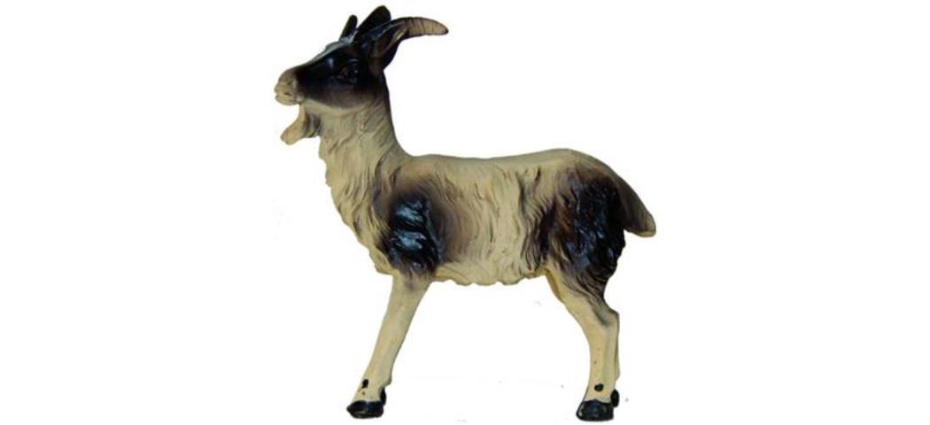 Krippenzubehör Ziege stehend Höhe 5,4cm geeignet für 11-13cm Figuren (44901)