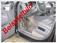 Alu- Fussmatten hinten oKS für Skoda Roomster 5J C/5 2006- (917971005872)